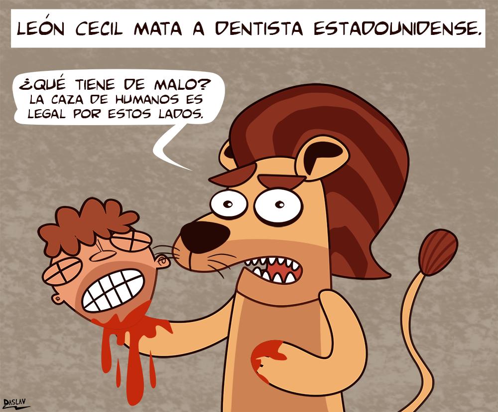 Nueva Viñeta: León Cecil en un Mundo Paralelo.