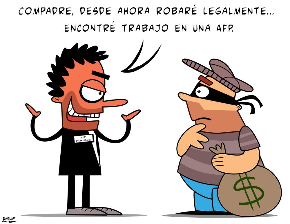 Viñeta: Ladrones