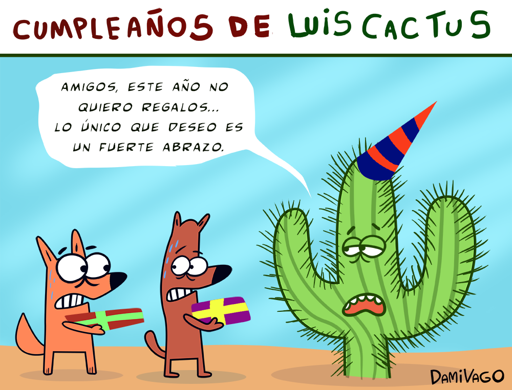 Damivago Nº 294: Luis Cactus