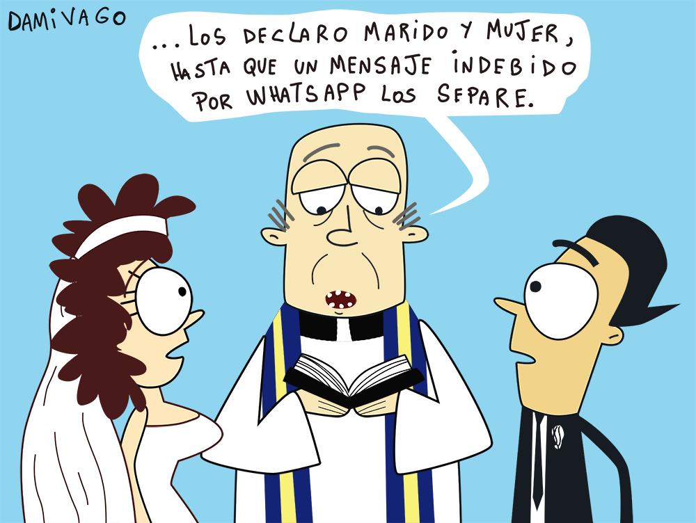 Damivago Nº 668: Matrimonio