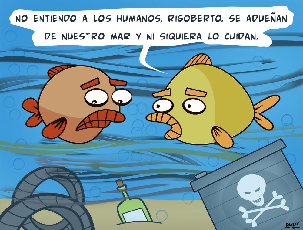 Nueva Viñeta: El Mar