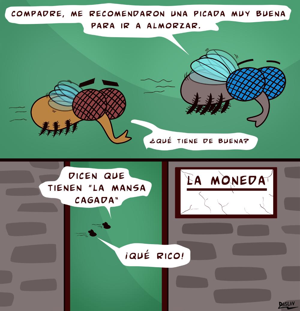 Nueva Viñeta: Vida de Moscas: La Picada