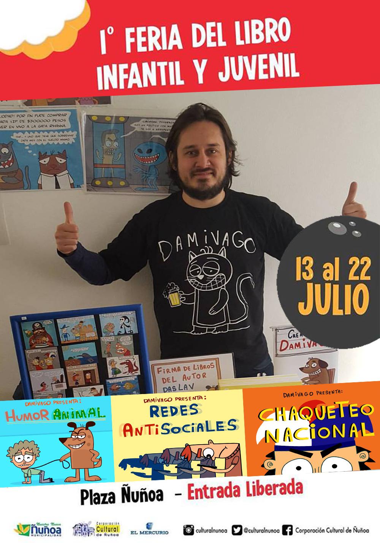 1era Feria del Libro Infantil y Juvenil Ñuñoa