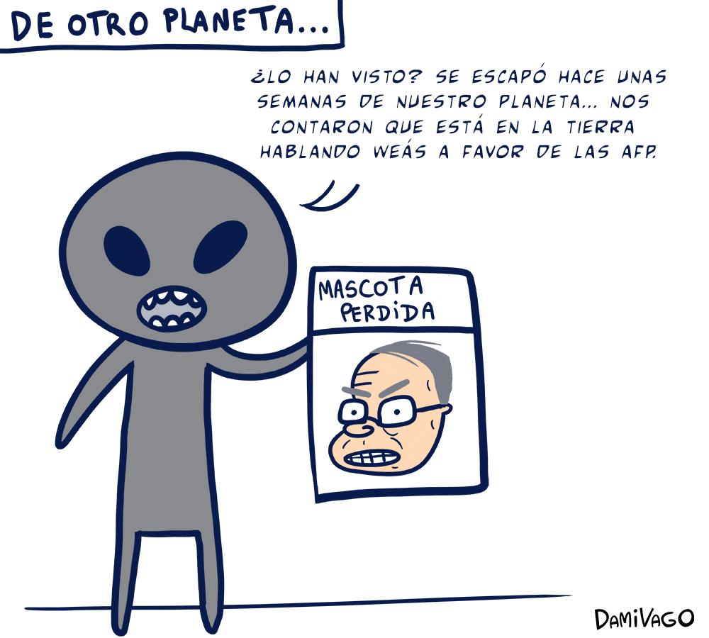 Damivago Nº 313: De Otro Planeta...