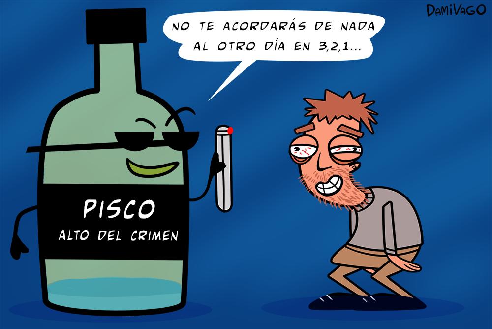 Nueva Viñeta: Pisco MIB