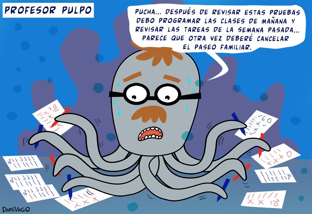 Damivago Nº 353: Profesor Pulpo