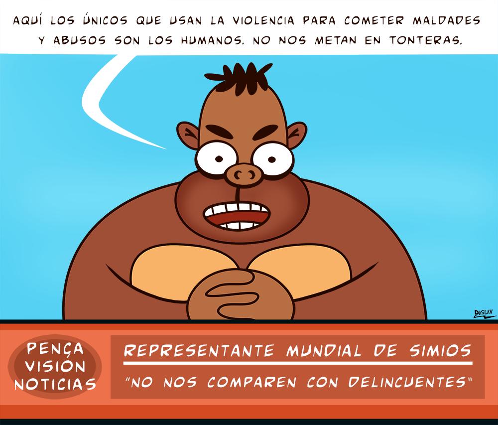 Viñeta : Simios