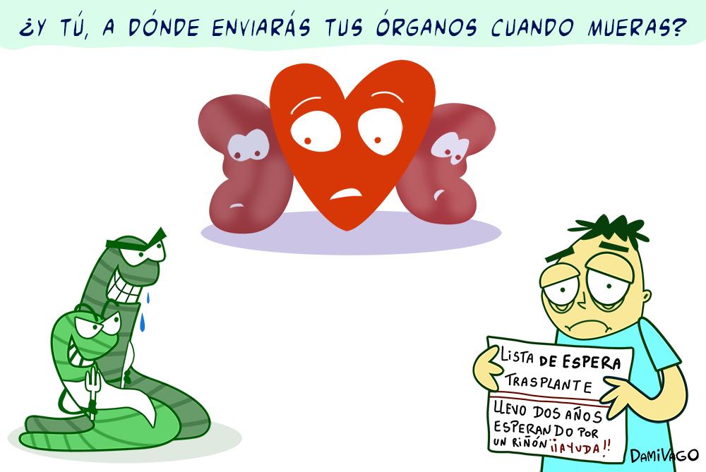 Damivago Nº 515: Donación de Órganos 4