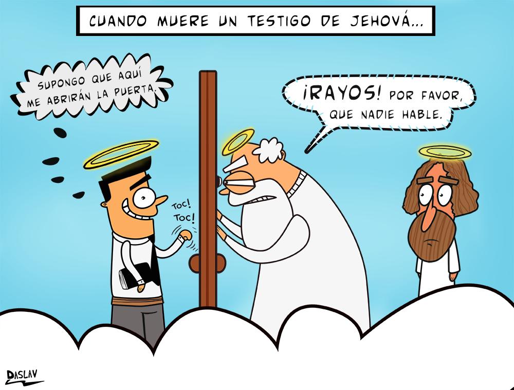 Nueva Viñeta: Testigo de Jehová