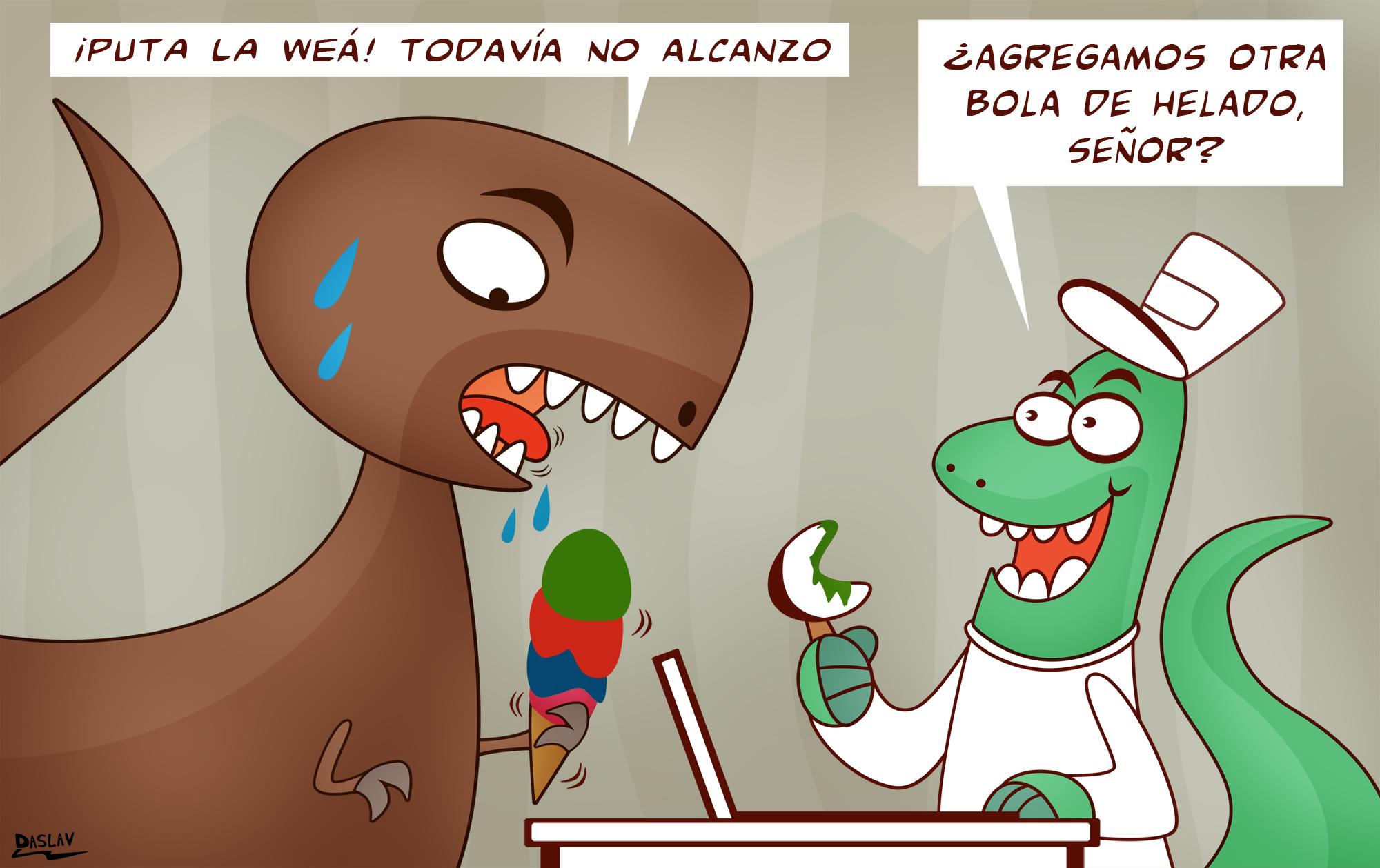 Damivago Nº 416: La triste vida de Juanito Tiranosaurio