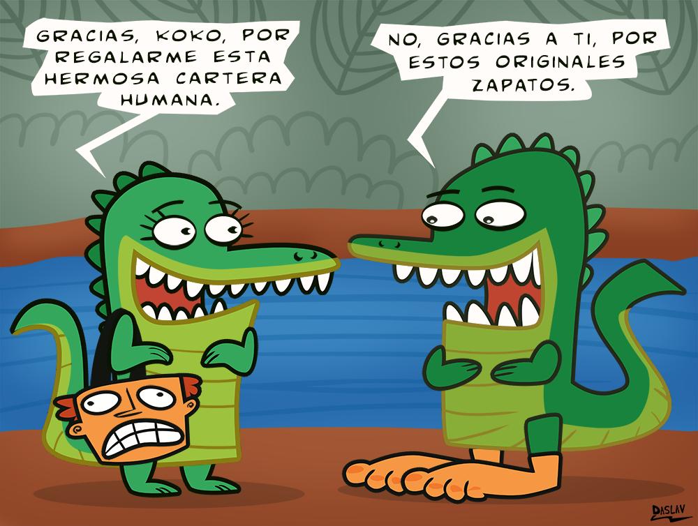 Damivago Nº 426: Vida de Cocodrilos