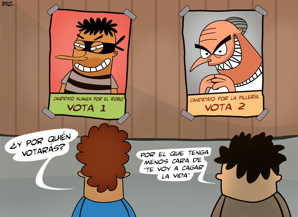 Damivago N° 397: ¿Por quién votarás?