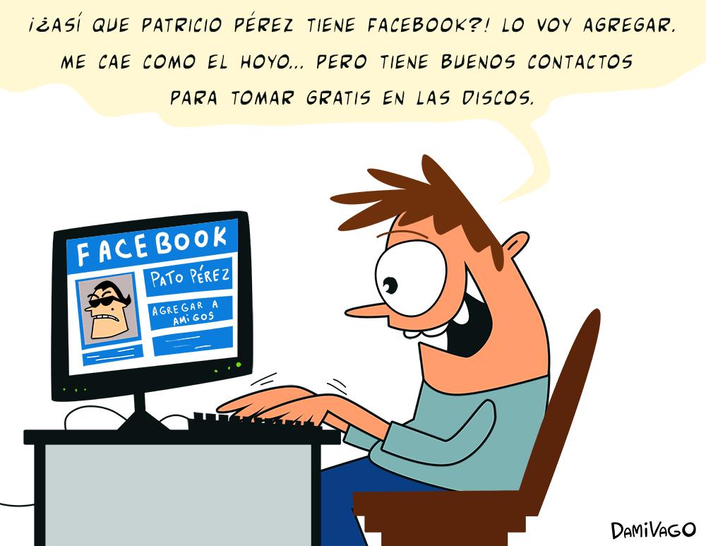"""Damivago Nº 525: """"Amigos"""" Facebook"""