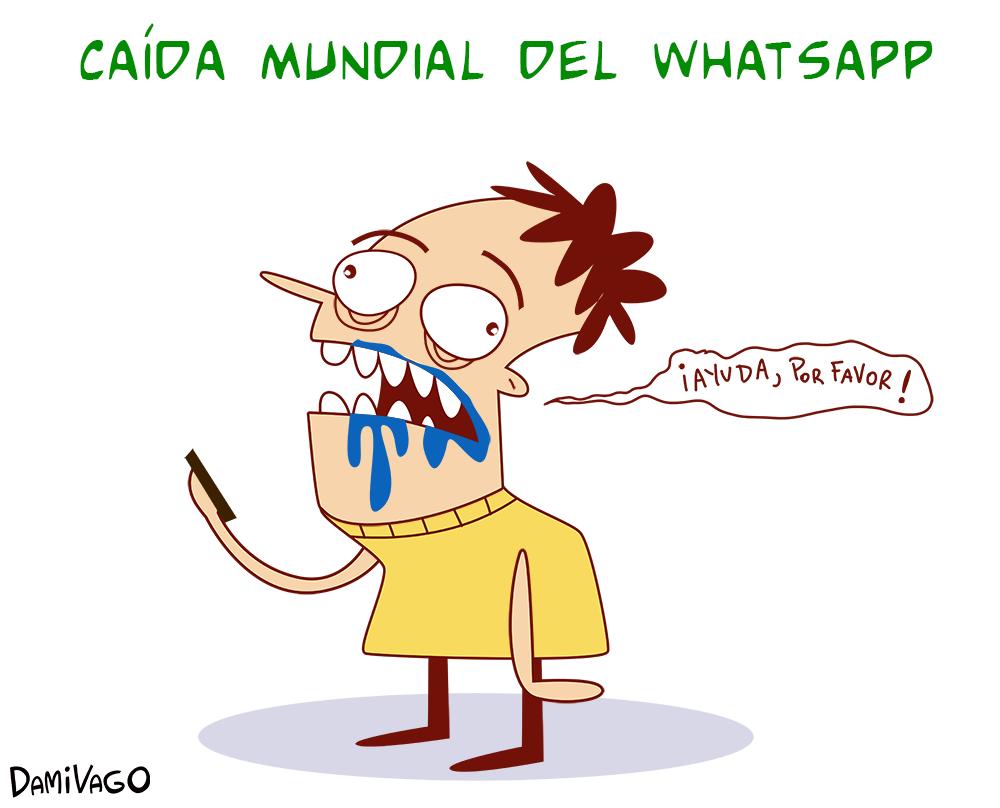 Damivago Nº 489: Caída de Whatsapp