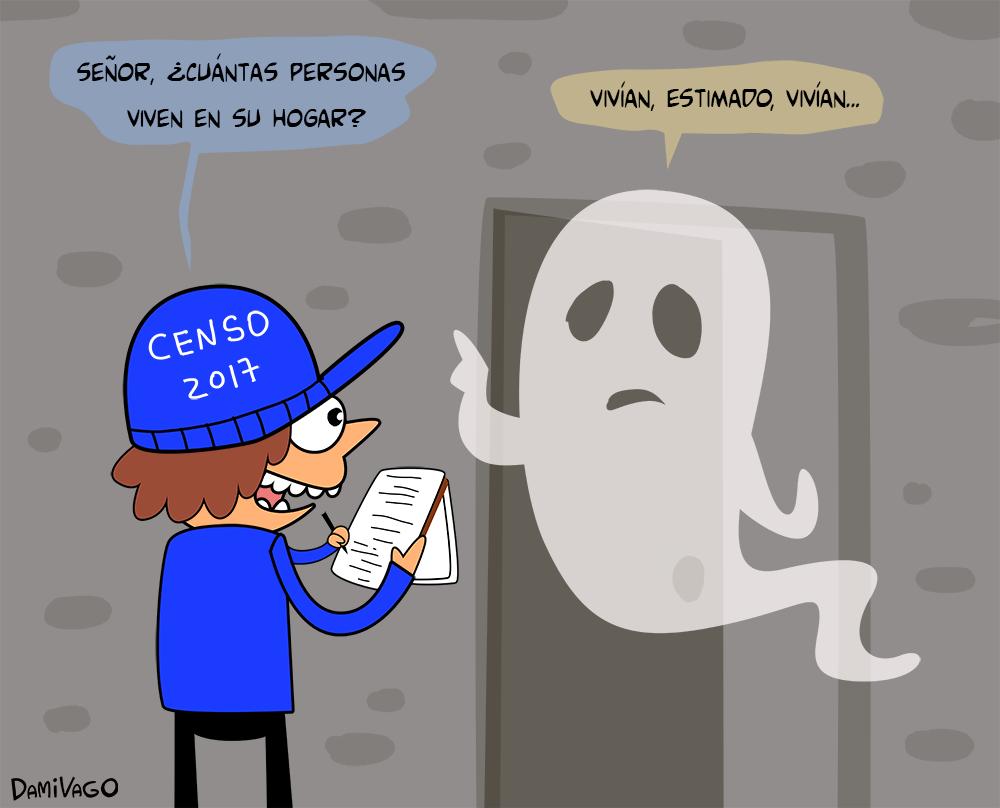 Damivago Nº 442: Censo 2017 (Caso Fantasmas 3)