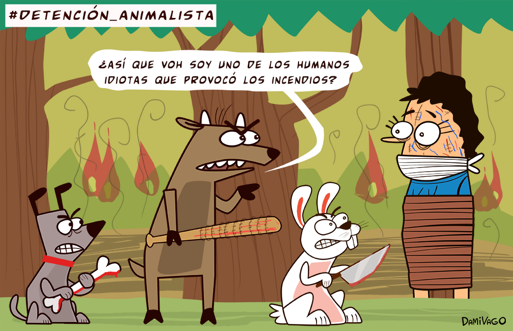Damivago Nº 419: Detención Animalista