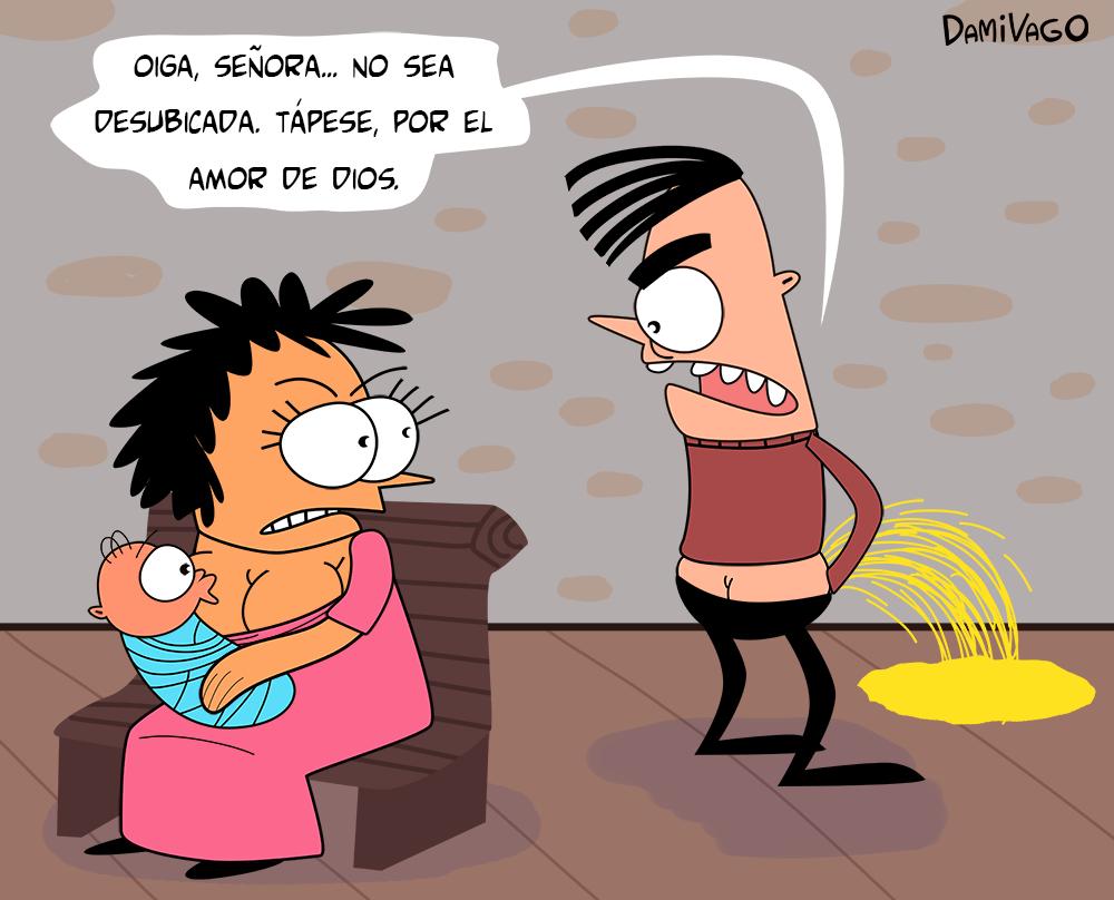 """Damivago Nº 446: """"Desubicada"""""""
