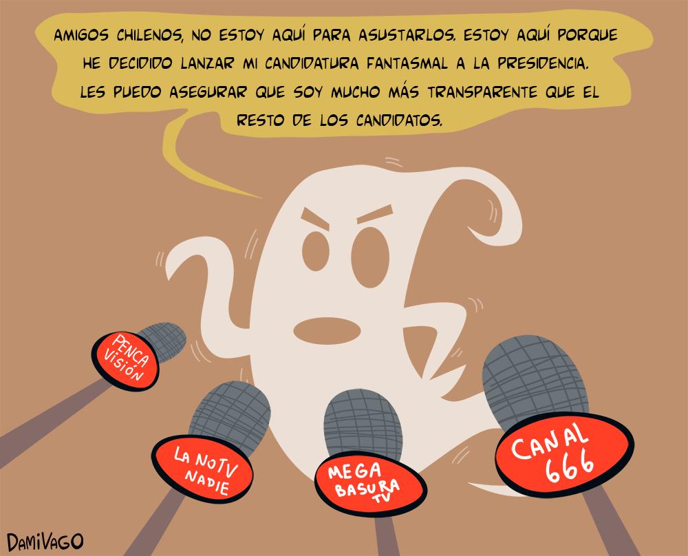 Damivago Nº 438: Caso Fantasmas 2 (Transparencia)