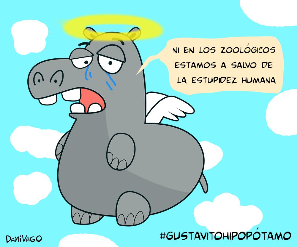 Damivago Nº 441: Caso de Gustavito El Hipopótamo