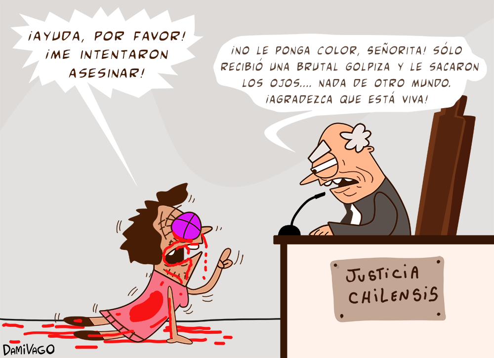 Damivago N1 546: Justicia Chilensis