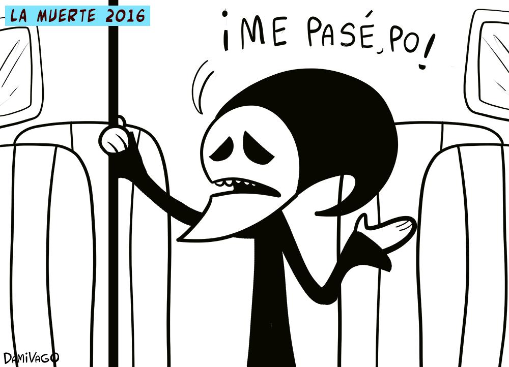 Damivago Nº 396: La Muerte 2016