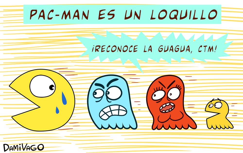 Damivago N° 314: Pac-man es un loquillo