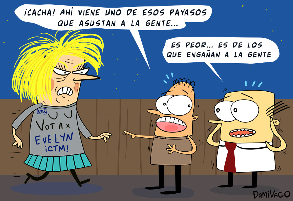"Damivago Nº 352: Los ""Payasos"" en Chile"