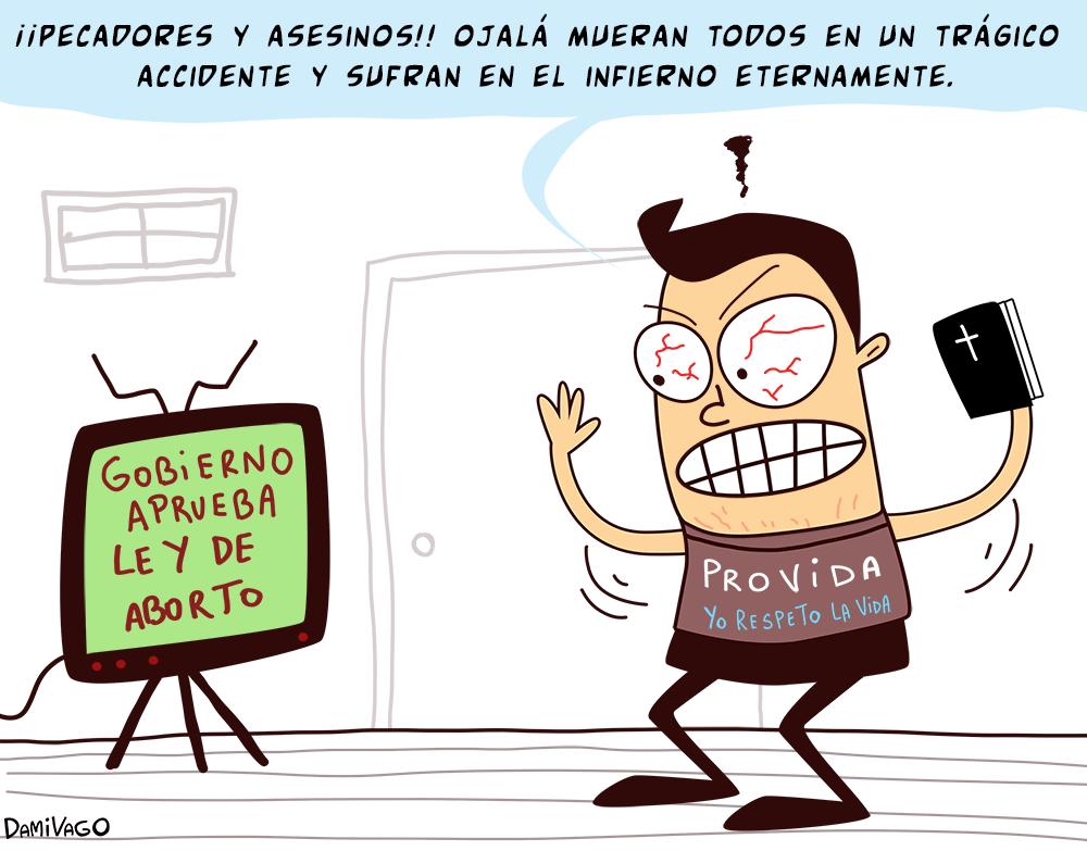 """Damivago Nº 585: """"Defensores"""" De La Vida"""