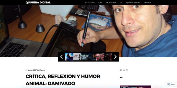 Damivago en Químera Digital Venezuela