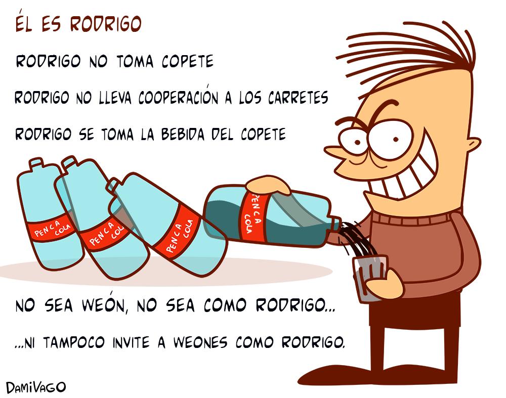 Damivago Nº 469: Rodrigo