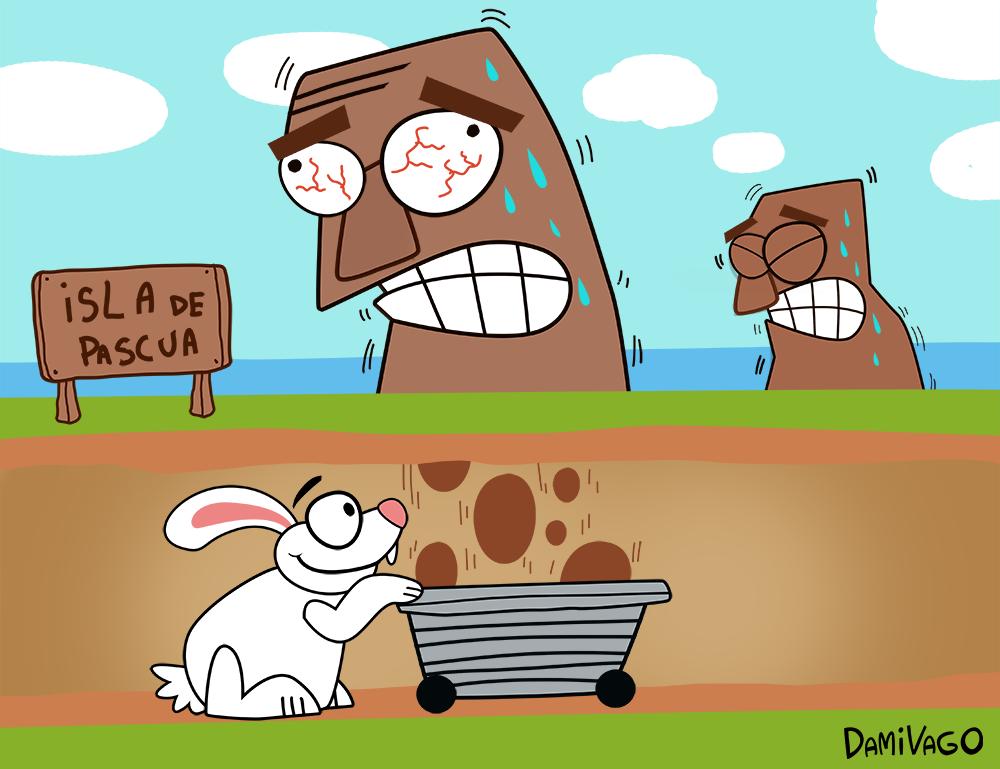 Damivago Nº 474: El Secreto de los Huevos de Pascua