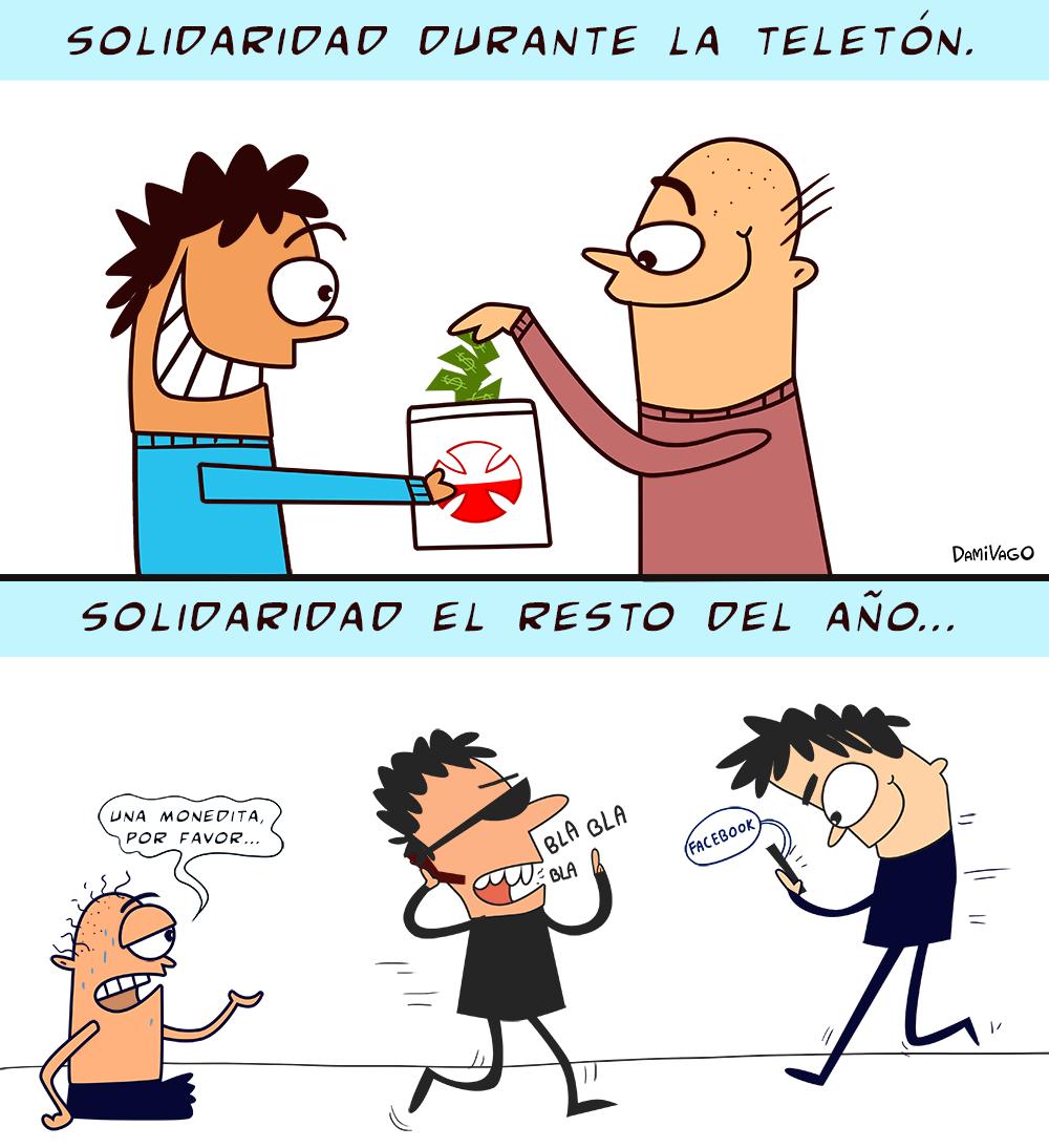 Damivago Nº 380: Solidaridad
