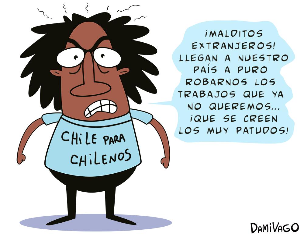 Damivago Nº 494: Xenofobia Chilensis