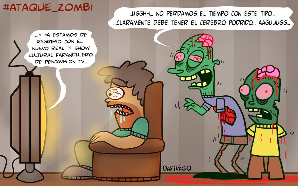 Damivago Nº 385:  Ataque Zombi