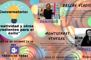 Invitación Conversatorio ONLINE INACAP Antofagasta
