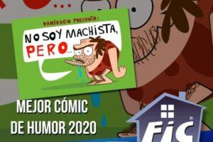 PREMIOS FIC SANTIAGO 2020: Mejor Cómic de Humor Chileno del 2019: «No soy Machista, pero…»
