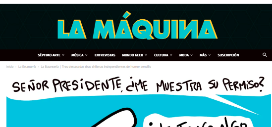 La Estantería | Tres destacadas tiras chilenas independientes de humor sencillo