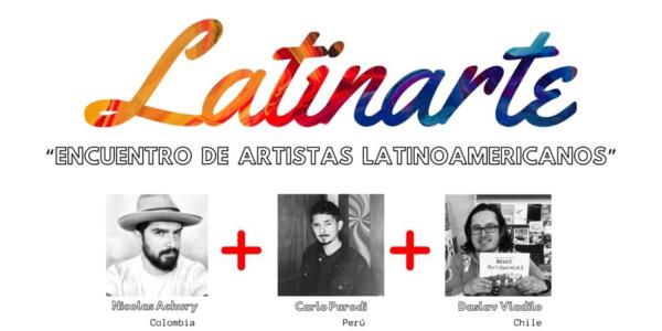 Damivago en LATINARTE: «Encuentro de Artistas Latinoamericanos»