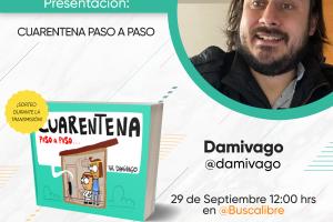Damivago en Instagram Live con Buscalibre
